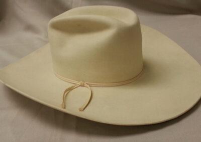 Hat – Worn by Linda Anderson Dozier, Rodeo Queen 1959.