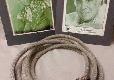 Photos and Rope – Buff Brady Jr