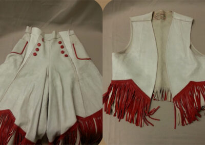 Rodeo Outfit – 1949 Princess, Donna Driver Wyatt.