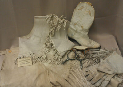 Rodeo Outfit – 1941 Queen, Bernice Bender.